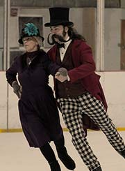 Steampunks on ice skates