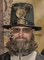 Steampunk beard