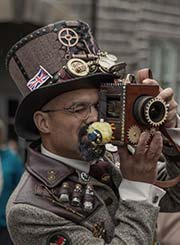Haworth steampunk photographer