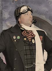 Steampunk aviator