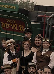 Railway to the Moon group photo