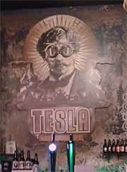 Tesla Steampunk Bar