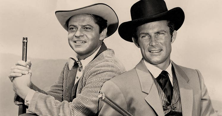 Ross Martin and Robert Conrad