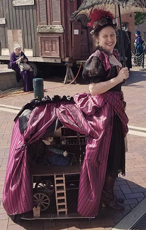 Steampunk Bustle