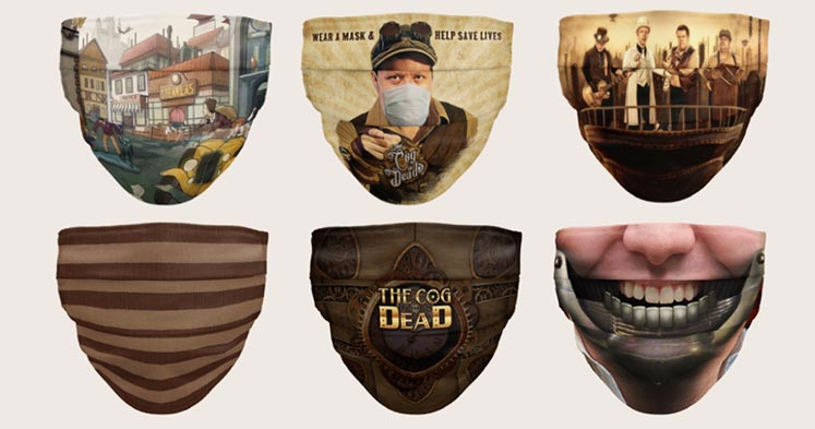 The Cog Is Dead Masks