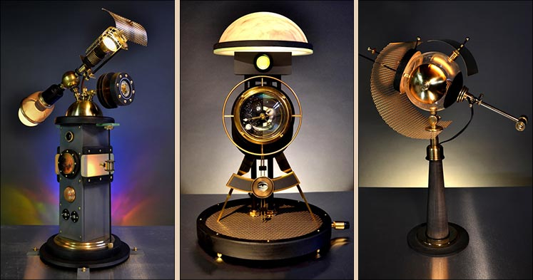 Art Donovan Lamps