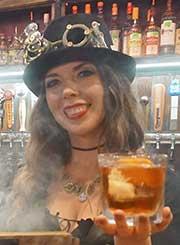 Jekyll & Hyde bartender