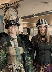 Steamposium costumes