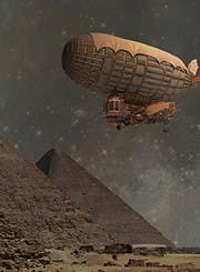 Steampunk pyramids