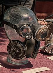 Steampunk prop at Maker Faire