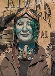 Big River Steampunk Festival cosplay