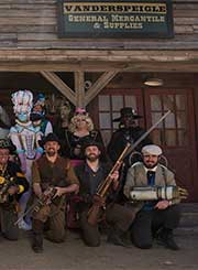 Wild Wild West Steampunk Convention group shot