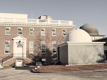 Exterior of Harvard-Smithsonian Center for Astrophysics