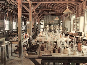 Thomas Edison's laboratory at Edison and Ford Winter Estates