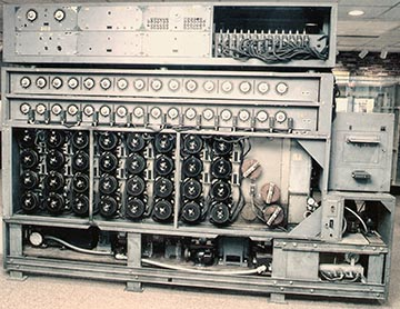 US Navy Bombe used to decrypt the German Enigma machine